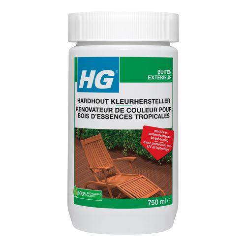 Rénovateur pour teck et autres bois d'essences tropicales HG 750 ml