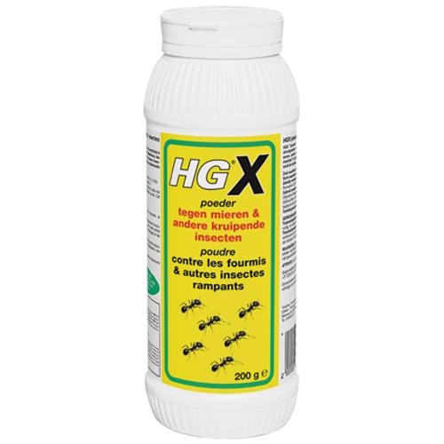 Poudre contre les fourmis & autres insectes rampants HGX 200 g