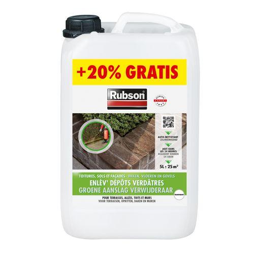 Nettoyant dépôts verdâtres Rubson 6L