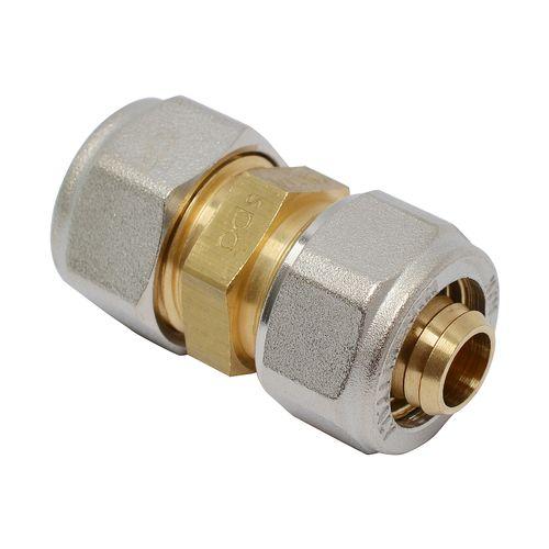 Raccord de transition droit pour tuyau multicouche 16 x 15 mm