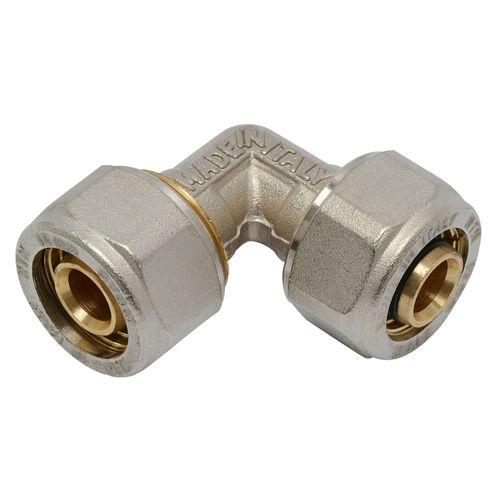 Coude pour tuyau multicouche 16 x 16 mm