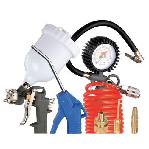 Kit de 7 accessoires pour air comprimé C&K