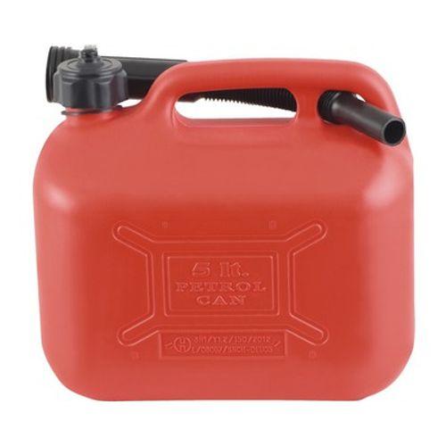 Jerrycan d'essence Arnold rouge 5 L