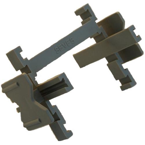 Coeck glasdalkruisjes 8 cm - 25 stuks