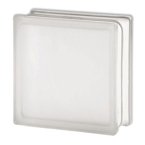 Brique de verre Coeck transparent 19 x 19 x 8 cm