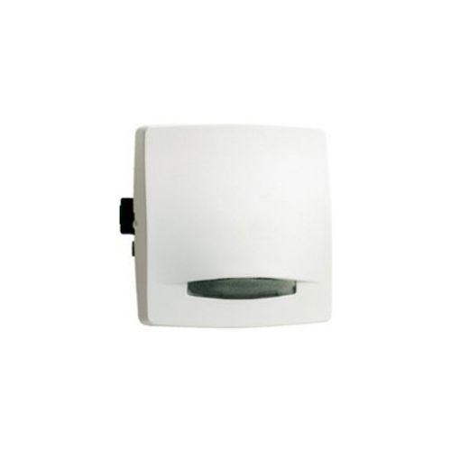 Legrand oteo tweepolige schakelaar met controlelamp wit