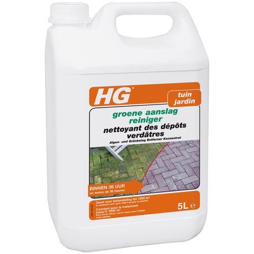 Nettoyant dépôts verdâtres HG X 5L