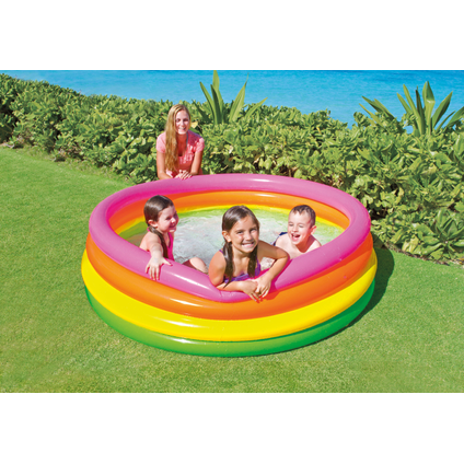 Piscine gonflable Intex Sunset Glow Ø 168cm