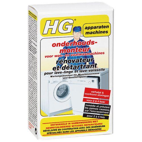 HG onderhoudsmonteur voor was- en vaatwasmachines 200ml