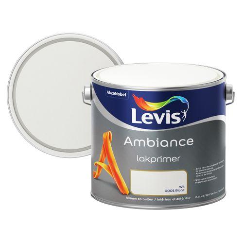 Levis grondverf 'Ambiance' wit 2,5 L