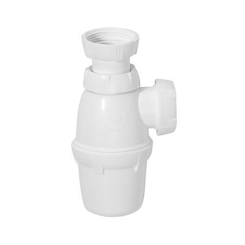 Siphon de lavabo Wirquin avec sortie Ø32mm