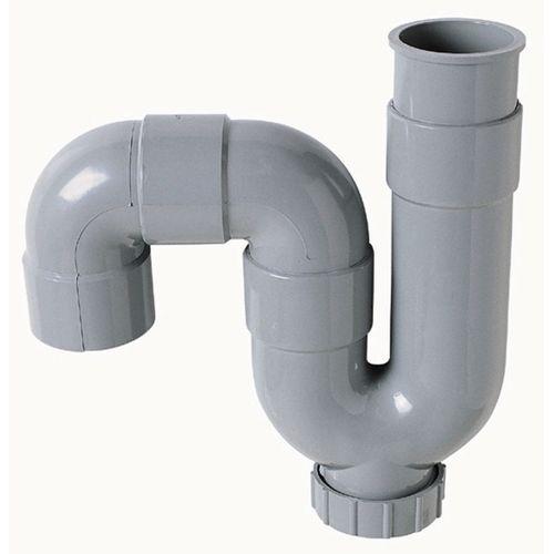 Wirquin spoelbaksifon PVC Ø40mm horitzontale/verticale uitgang