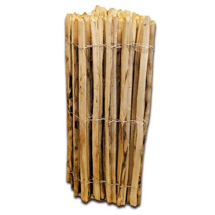 Clôture en bois de châtaignier 120 cm x 10 m