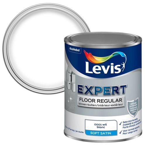 Levis betonverf 'Floor Regular' wit hoogglans 750ml