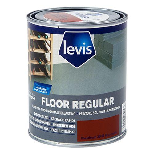 Levis betonverf 'Floor Regular' roest bruin hoogglans 750ml
