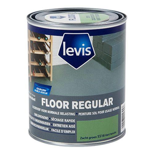 Levis betonverf 'Floor Regular' zacht groen hoogglans 750ml