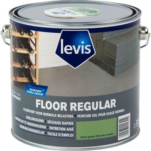Levis vloerverf 'Floor Regular' zacht groen 2,5L