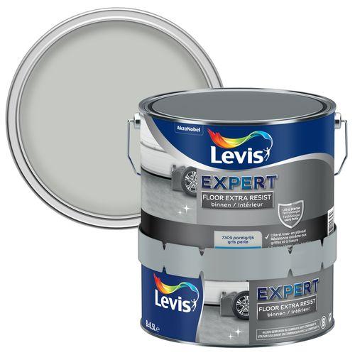 Levis betonverf 'Floor Extra Resist' parelgrijs hoogglans 2,5L