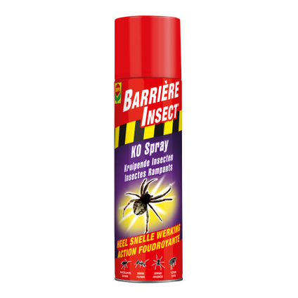 Insecticide spray insectes rampants Compo Barrière Insect K.O. 300ml