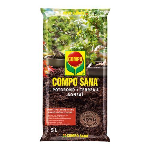 Terreau bonsaï Compo Sana 5L