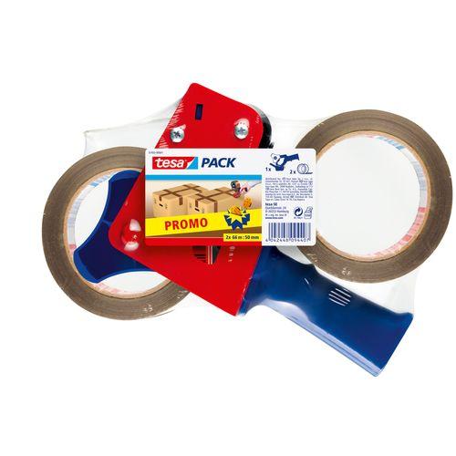 Ruban adhésif d'emballage Tesa 'Promopack Strong' PP 66 m x 50 mm