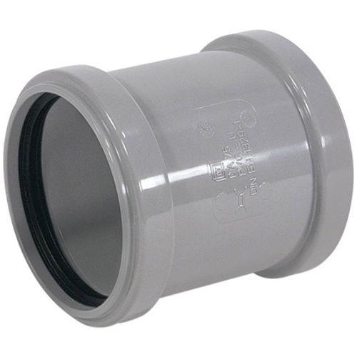 Martens overschuifmof 32mm  2xmm grijs
