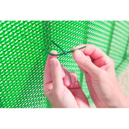 Nortene plastiband Bridfix groen 14cm 50 stuks