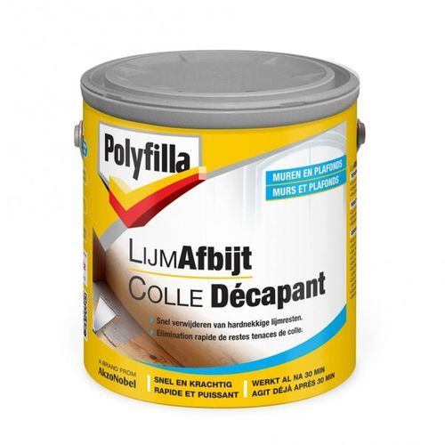 Polyfilla colle decapant