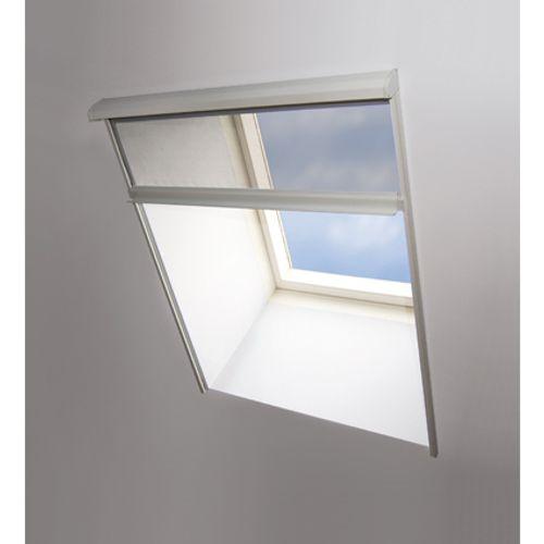 Moustiquaire Fenêtre de Toit Fermeture Eclair Ruban Fixation Cutter 150x180 cm