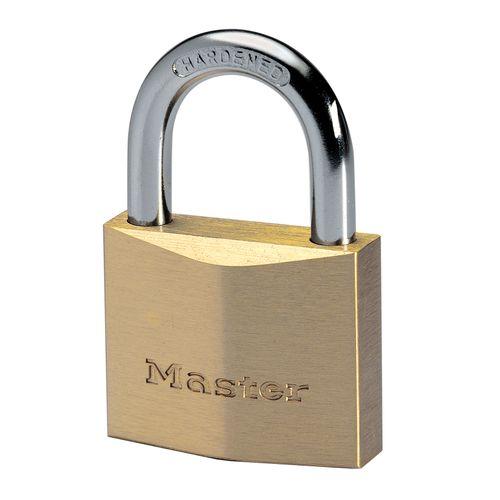 Master Lock hangslot 40mm massief messing extra dik