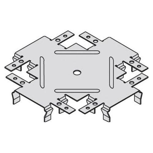 Raccord de niveau Knauf pour CD 60 X 27 mm