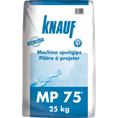 Knauf spuitgips 'MP 75' 25 kg