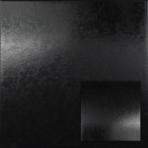 Wand- en vloertegel Pisanino zwart 33,3x33,3cm