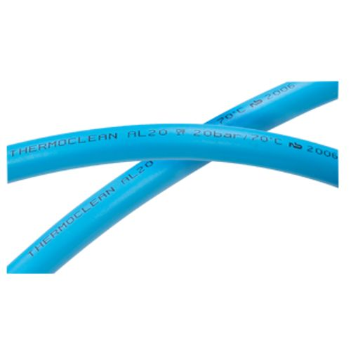 Tuyau Tricoflex Thermoclean Ø12,5mm 1m bleu