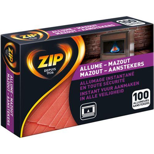 Zip mazout-aansteker - 100 stuks