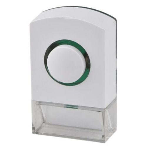 Avidsen verlichte drukknop voor bedrade bel wit