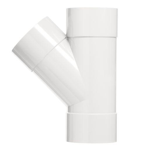 Martens t-stuk 40x40mm 3xlm 90gr wit