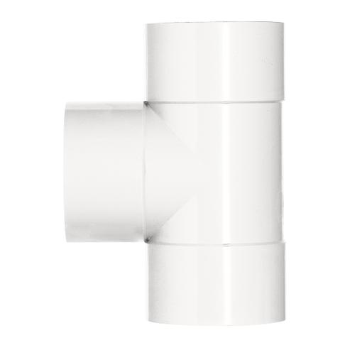 Martens t-stuk 40x40mm 3xlm 45gr wit