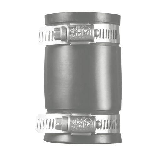 Martens flexibele koppeling 32/40mm recht zwart