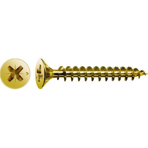 Vis universelle Spax 'Pozi' acier 4 x 35 mm - 400 pcs