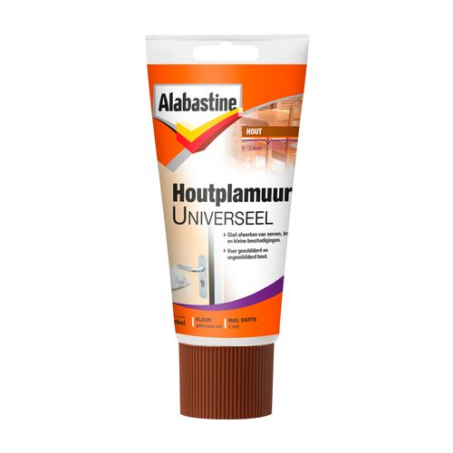 Alabastine houtplamuur universeel 250gr
