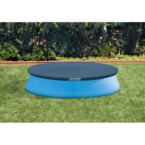 Bache de protection pour piscine easy Intex diam. 305 cm