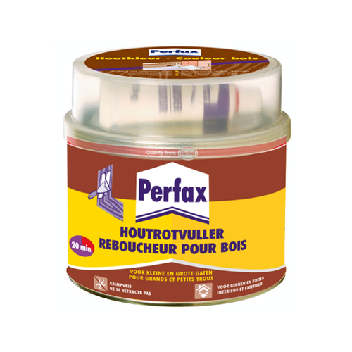 Perfax Houtrotvuller 1 kg wit