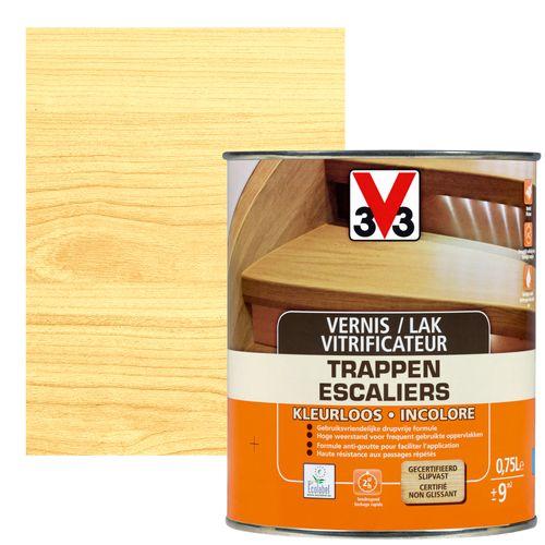 Vitrificateur escaliers V33 inColore mat 750ml