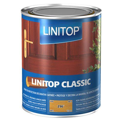 Lasure bois Lintop 'Classic Acryl' 296 sapin - 1L