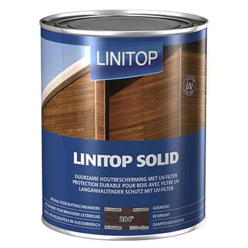 Linitop beits 'Solid' palissander 2,5L