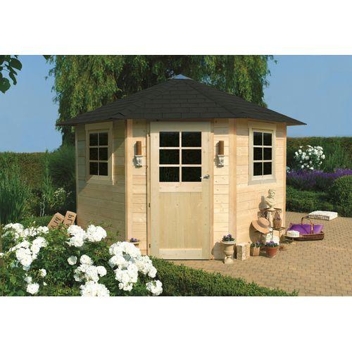 Solid tuinhuis Nancy hout 255x255cm