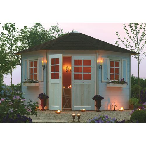 Abri de jardin Solid Nancy bois 7,88m² 305x305cm