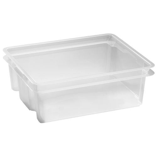 Keter opbergbox Crownest PVC transparant 17L