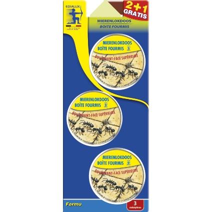 Formule mierenlokdoos 2 plus 1 gratis